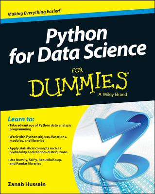 Python for Data Science for Dummies By Hussain, Zanab
