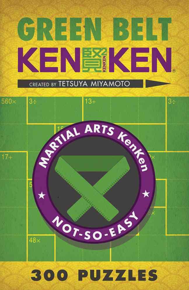 Green Belt KenKen By Miyamoto, Tetsuya