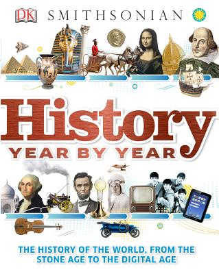 History Year by Year By Dorling Kindersley, Inc. (COR)